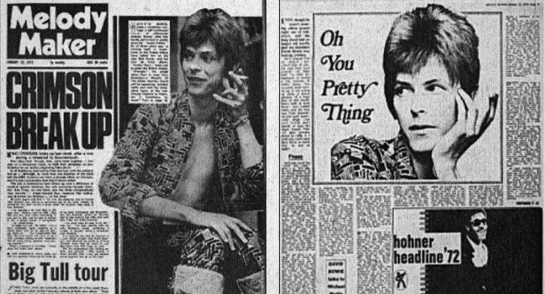 David Bowie, Melody Maker 22 January 1972: 'I'm gay and always have been'