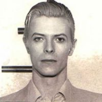 David Bowie's police mugshot, 25 March 1976