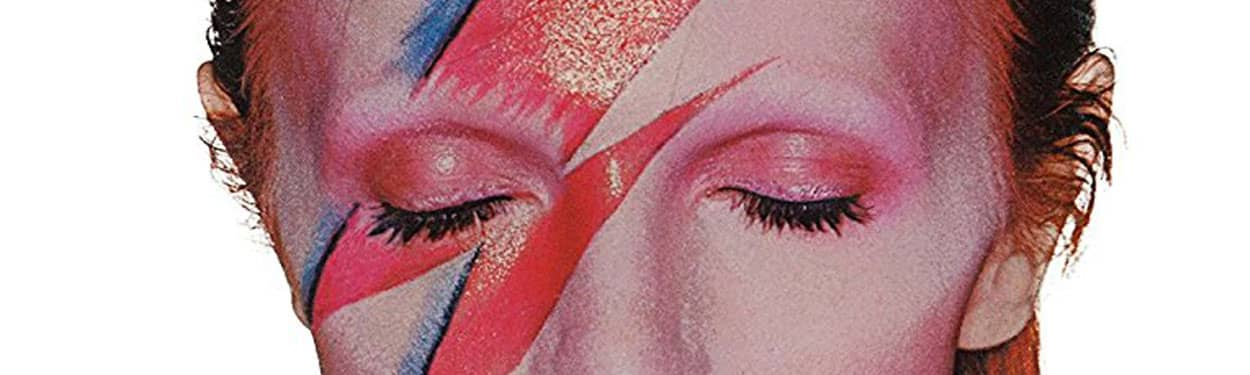 David Bowie – detail from Aladdin Sane album cover