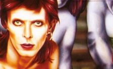 David Bowie – detail from Diamond Dogs album cover