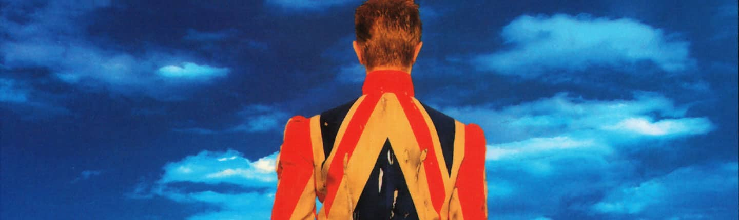 David Bowie – detail from Earthling album cover