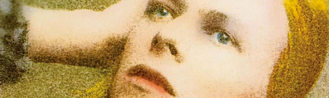 David Bowie – detail from Hunky Dory album cover