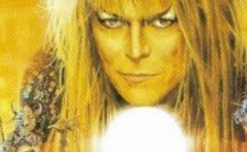 David Bowie –detail from Labyrinth album cover