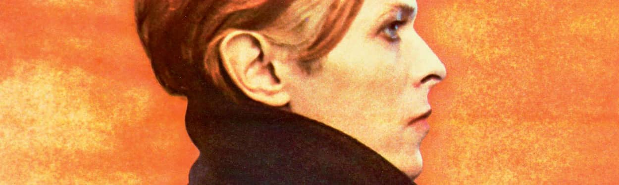 David Bowie – detail from Low album cover