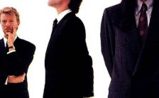 David Bowie –detail from Tin Machine album cover