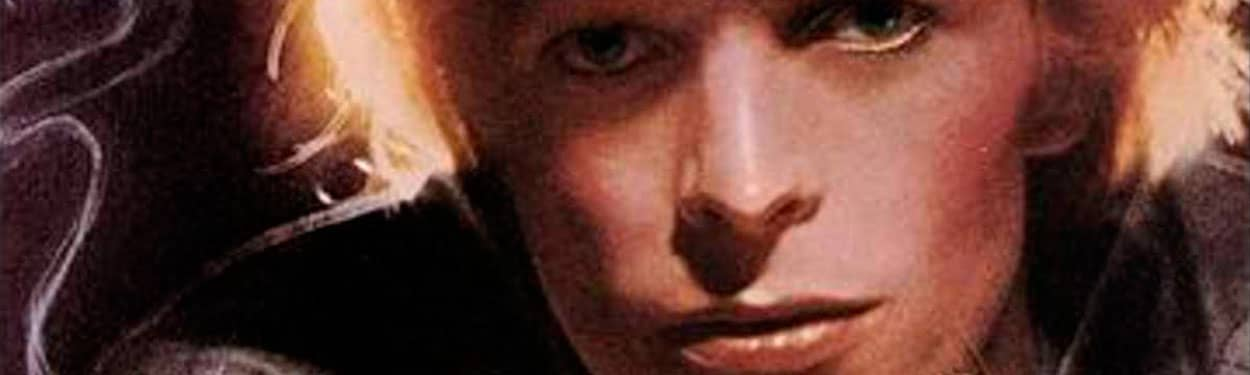 David Bowie – detail from Young Americans album cover