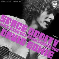 Space Oddity single – Italy/Holland