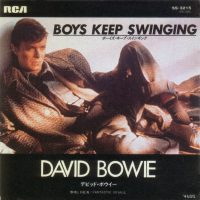 Boys Keep Swinging single – Japan