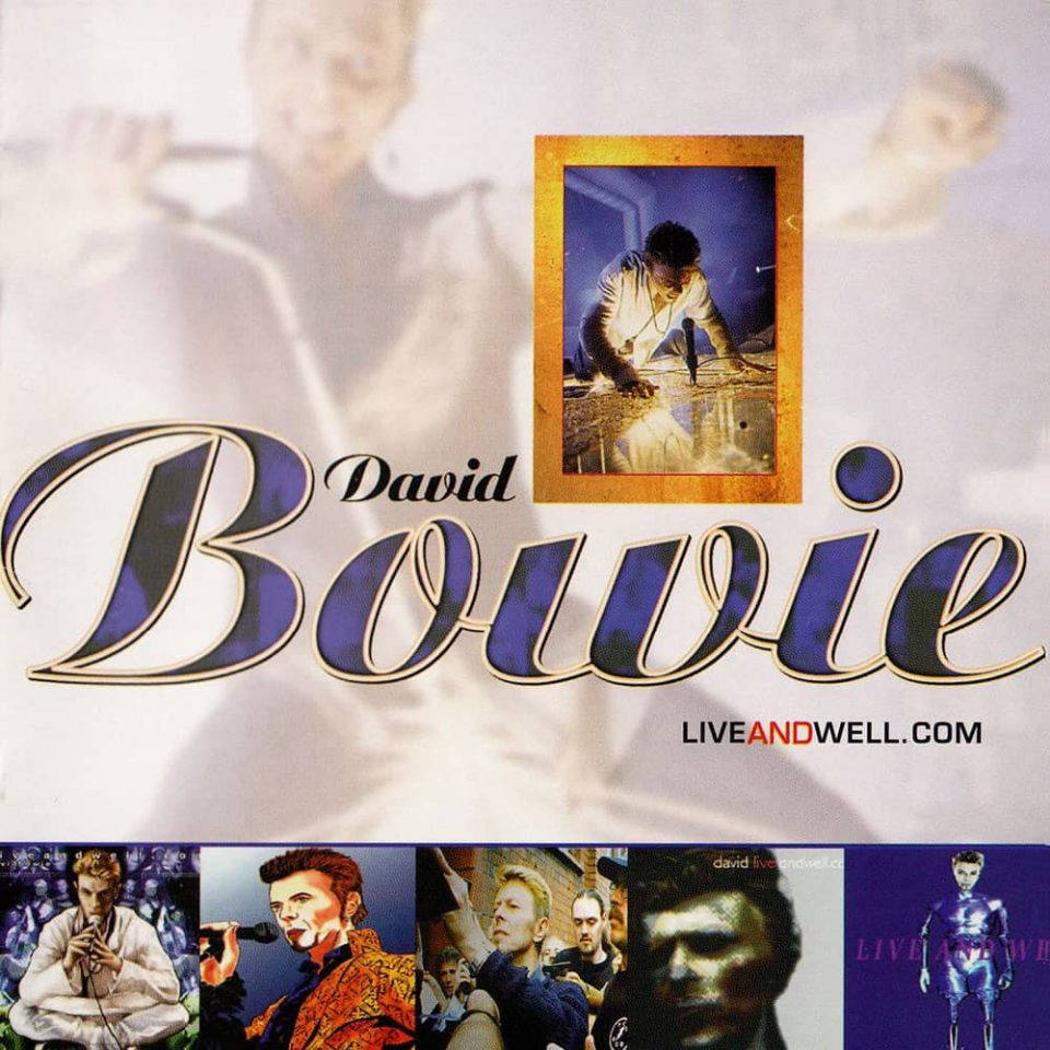David Bowie – liveandwell.com album cover