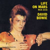 Life On Mars? single – United Kingdom