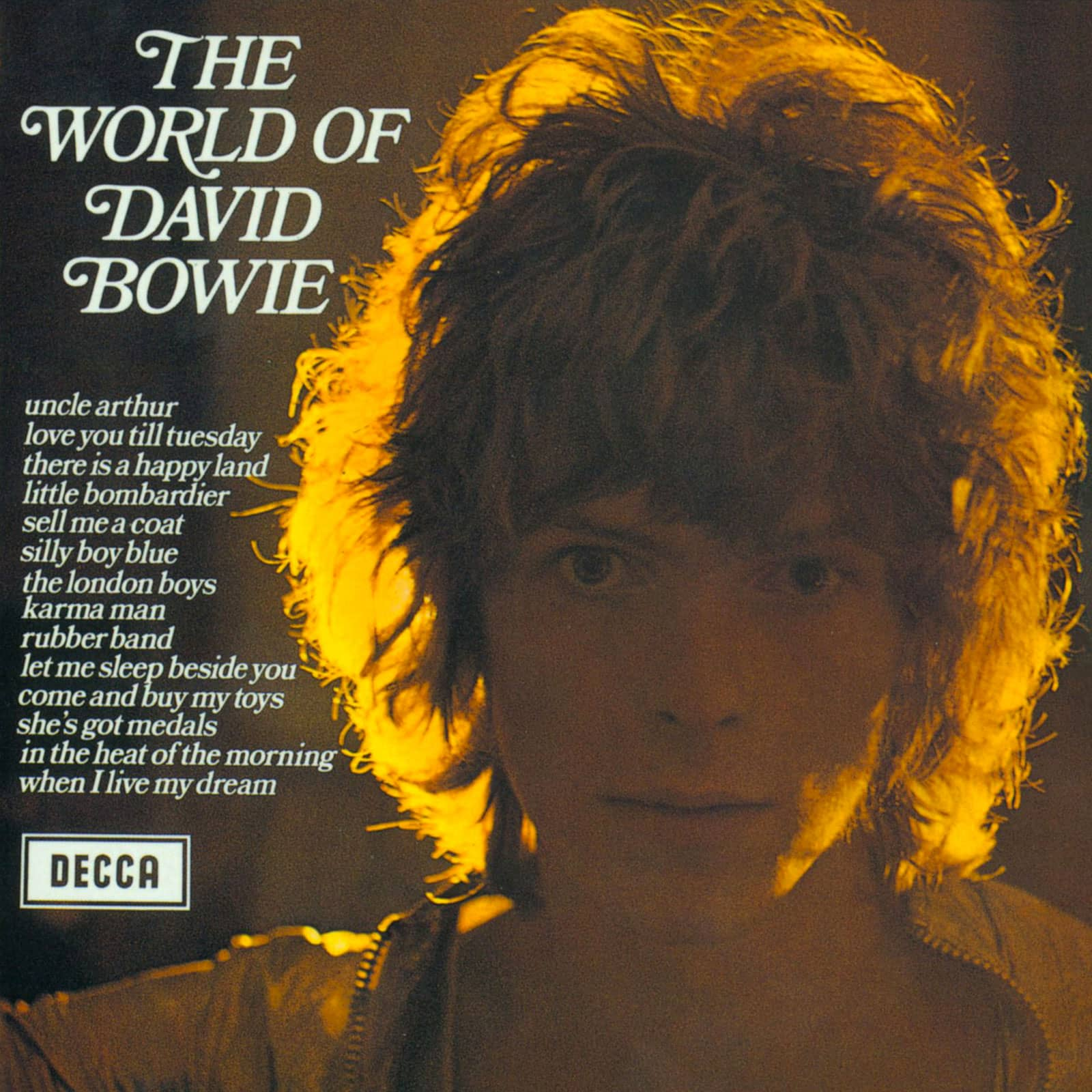 The World Of David Bowie album cover artwork – The Bowie Bible